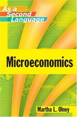 Microeconomics As a Second Language   2010 edition cover