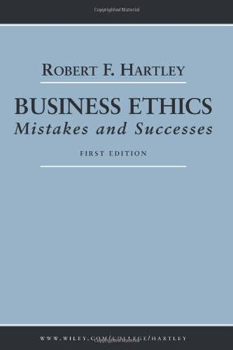 Business Ethics Mistakes and Successes  2005 edition cover