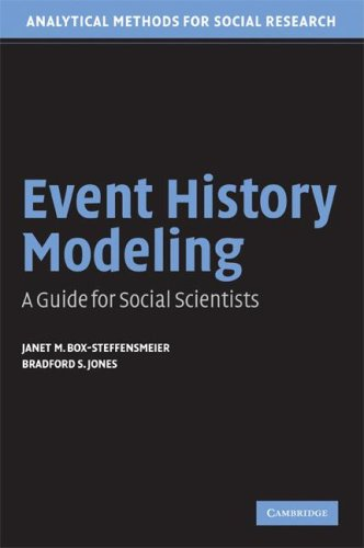 Event History Modeling A Guide for Social Scientists  2004 edition cover
