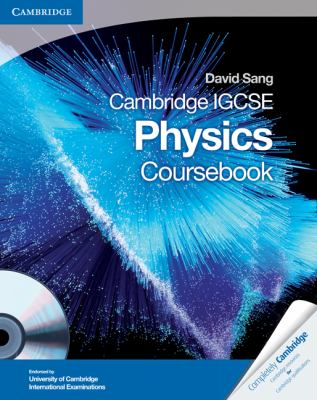 Cambridge IGCSE Physics Coursebook with CD-ROM   2010 9780521757737 Front Cover