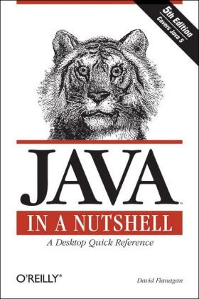 Java in a Nutshell  5th 2005 edition cover