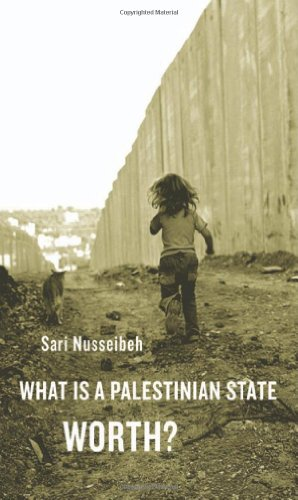What Is a Palestinian State Worth?   2011 9780674048737 Front Cover
