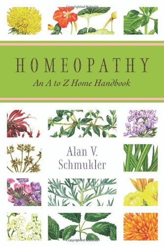 Homeopathy An a to Z Home Handbook  2006 9780738708737 Front Cover