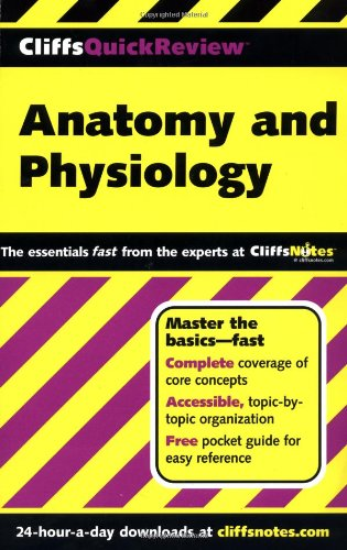 CliffsQuickReview Anatomy and Physiology   2001 edition cover