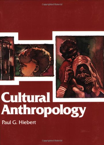 Cultural Anthropology  2nd edition cover