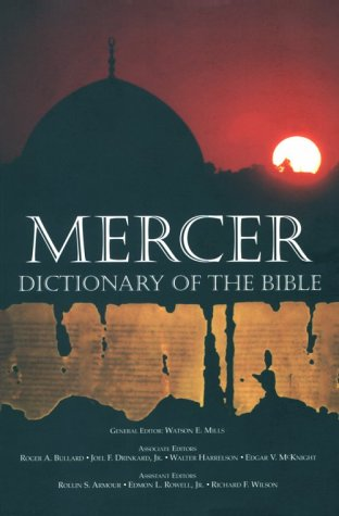 Mercer Dictionary of the Bible  N/A edition cover