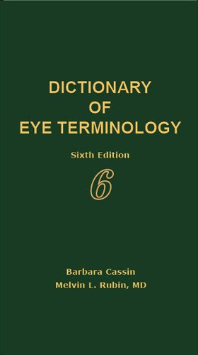 Dictionary of Eye Terminology  6th 2012 edition cover