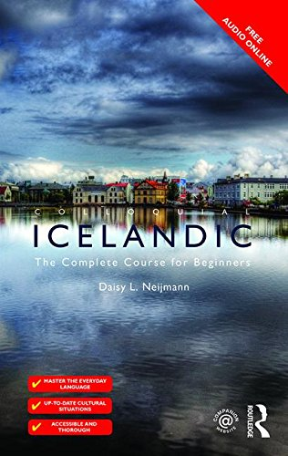 Colloquial Icelandic The Complete Course for Beginners 2nd 2015 (Revised) 9781138949737 Front Cover