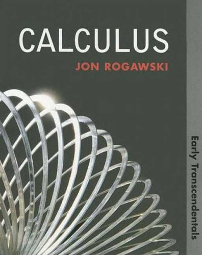 Calculus Early Transcendentals  2008 edition cover