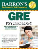 Barron's GRE Psychology, 7th Edition  7th (Revised) edition cover