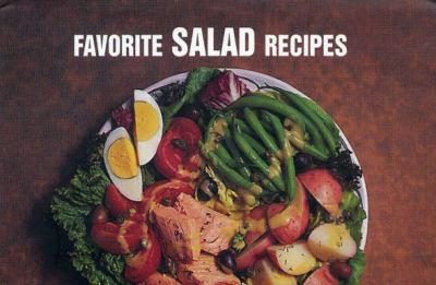 Favorite Salad Recipes  N/A 9781558671737 Front Cover