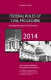 Federal Rules of Civil Procedure 2014: 2014  2014 edition cover