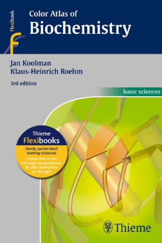 Color Atlas of Biochemistry  3rd 2013 edition cover