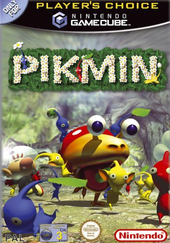 Pikmin (Players' Choice  GameCube) GameCube artwork