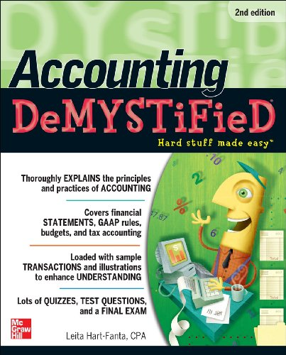 Accounting - Demystified  2nd 2012 edition cover