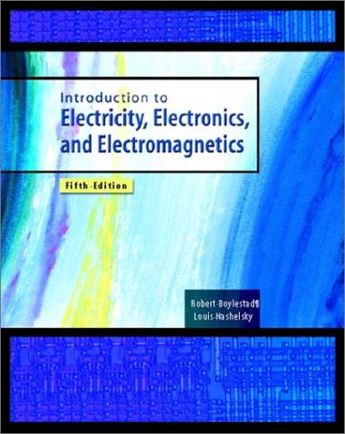 Introduction to Electricity, Electronics, and Electromagnetics  5th 2002 (Revised) 9780130105738 Front Cover
