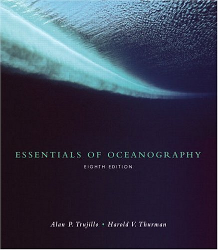 Oceanography  8th 2005 edition cover