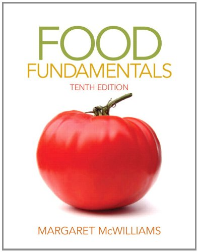 Food Fundamentals  10th 2013 (Revised) edition cover