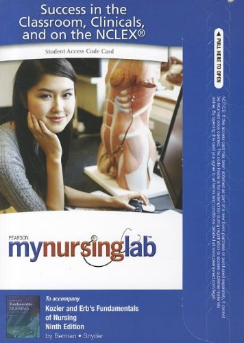 MyNursingLab  9th 2012 (Revised) edition cover