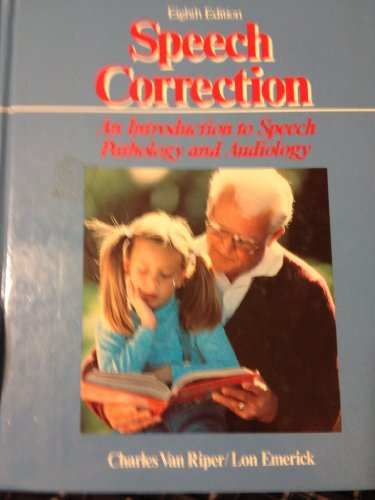 Speech Correction  8th 9780138295738 Front Cover