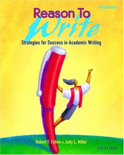Reason to Write Strategies for Success in Academic Writing  2003 edition cover