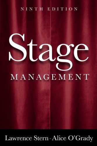 Stage Management  9th 2010 edition cover