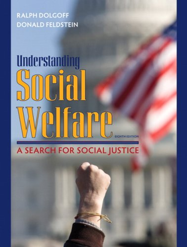 Understanding Social Welfare A Search for Social Justice 8th 2009 edition cover