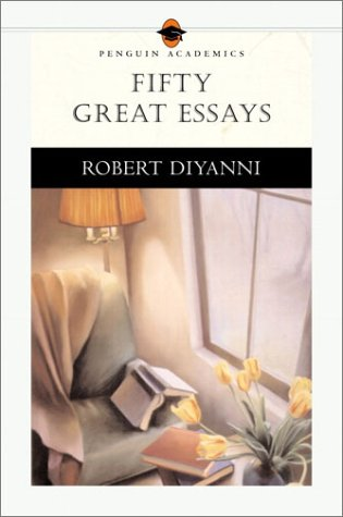 Fifty Great Essays   2002 edition cover