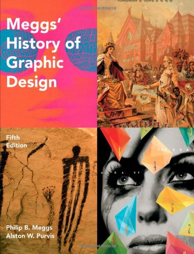 Meggs' History of Graphic Design  5th 2012 edition cover