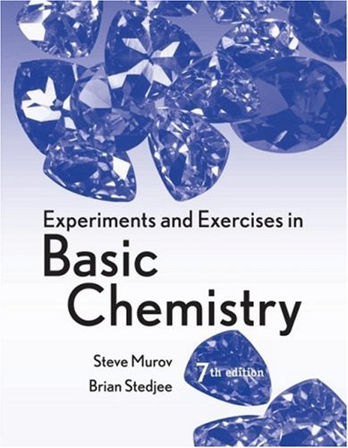 Experiments and Exercises in Basic Chemistry  7th 2009 9780470423738 Front Cover