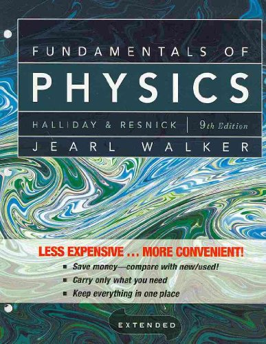 Fundamentals of Physics Extended  9th 2011 edition cover