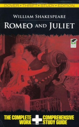 Romeo and Juliet Thrift Study Edition   2009 9780486475738 Front Cover