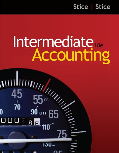 Intermediate Accounting  18th 2012 9780538479738 Front Cover