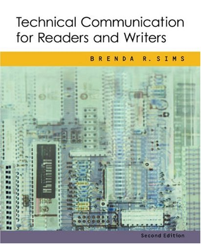 Technical Communication for Readers and Writers  2nd 2003 edition cover