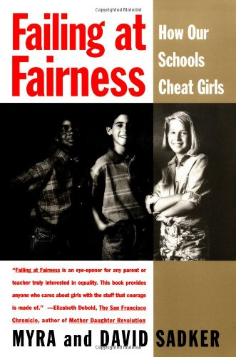 Failing at Fairness How America's Schools Cheat Girls  1995 edition cover