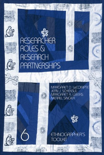 Researcher Roles and Research Partnerships   1999 9780761989738 Front Cover