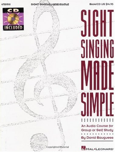 Sight Singing Made Simple 1st edition cover