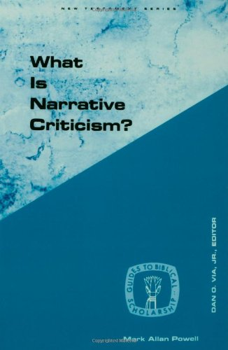 What Is Narrative Criticism?  N/A edition cover