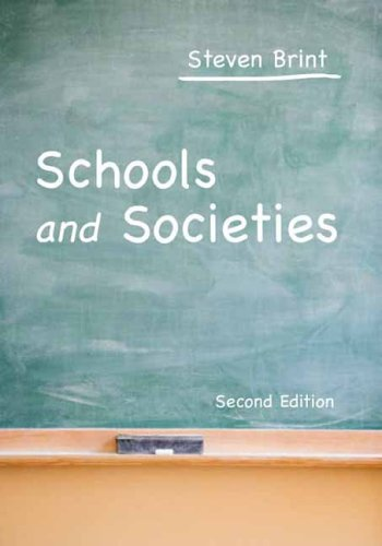 Schools and Societies  2nd 2006 (Revised) edition cover