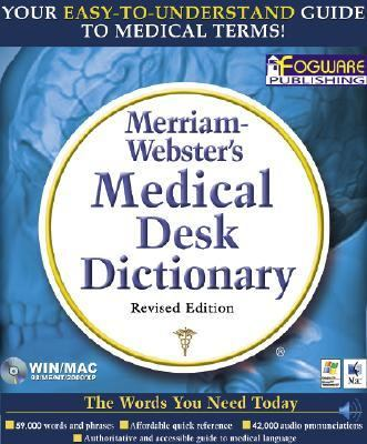 Merriam-Webster's Medical Desk Dictionary   2003 9780877794738 Front Cover