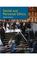 Social and Personal Ethics  8th 2014 edition cover