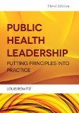 Public Health Leadership  3rd 2014 edition cover