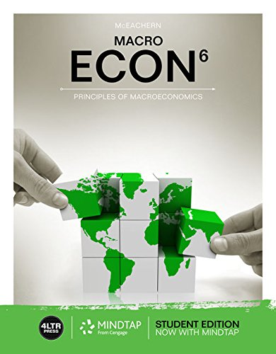 Econ Macro + Econ Macro Online, 1 Term 6 Months Access Card:   2018 9781337408738 Front Cover