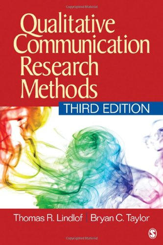 Qualitative Communication Research Methods  3rd 2011 edition cover
