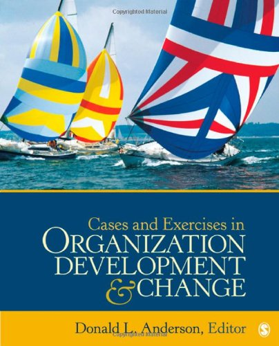Cases and Exercises in Organization Development and Change   2012 edition cover