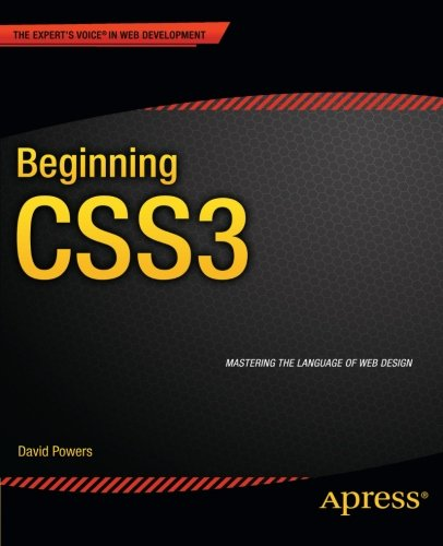 Beginning CSS3   2012 9781430244738 Front Cover
