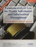 FUNDAMENTALS OF LAW F/HEALTH I N/A edition cover