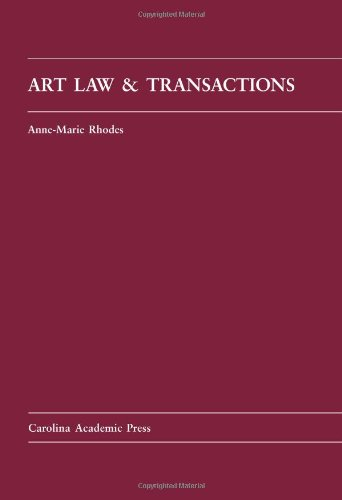 Art Law and Transactions   2011 edition cover
