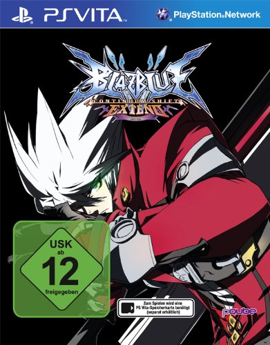 BlazBlue: Continuum Shift Extend PlayStation Vita artwork