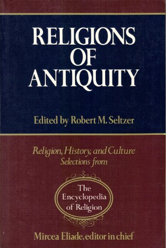 Religions of Antiquity  N/A 9780028973739 Front Cover